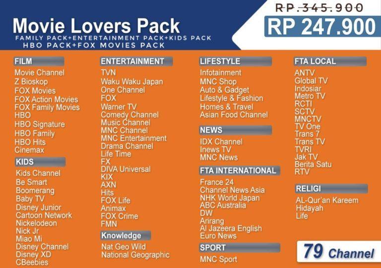 Movie Lover MNC Vision