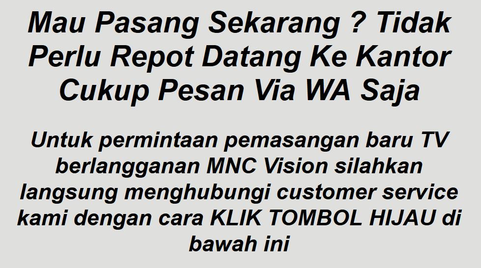 Cara Mendaftar MNC Vision